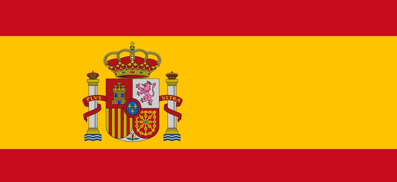 Vector of Spanish flag.